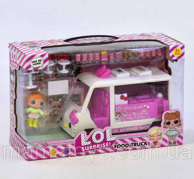 Набор с куклами К 5622 L.Q.L Передвижная закусочная. Автобус, 2 куклы, аксессуары ЛОЛ