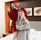 Толстовка - плед с капюшоном HUGGLE HOODIE   Плед с рукавами   плед толстовка   плед   худи   толстовка, фото 4