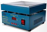946C нагревательный стол для smd пайки 200х200мм 50-350С 800Вт  220В, фото 2