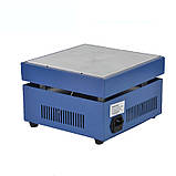 946C нагревательный стол для smd пайки 200х200мм 50-350С 800Вт  220В, фото 3