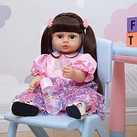 Кукла реборн 55 см полностью виниловая девочка Луиза
