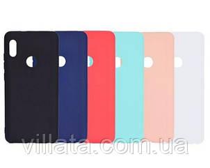 Силиконовый чехол Candy для Xiaomi Redmi Note 5 Pro / Note 5 (DC) Розовый