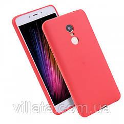 Силиконовый чехол Candy для Xiaomi Redmi 5 Plus / Redmi Note 5 (SC) Красный