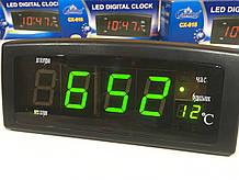 Настільний электроный годинник VST-818 (50 шт/ящ)
