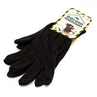 Перчатки вязаные двойные, зимние, Doloni