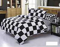 Комплект постельный Шахматный, бязь,  хлопок