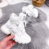 Ботинки женские Tress белые 2702, фото 5