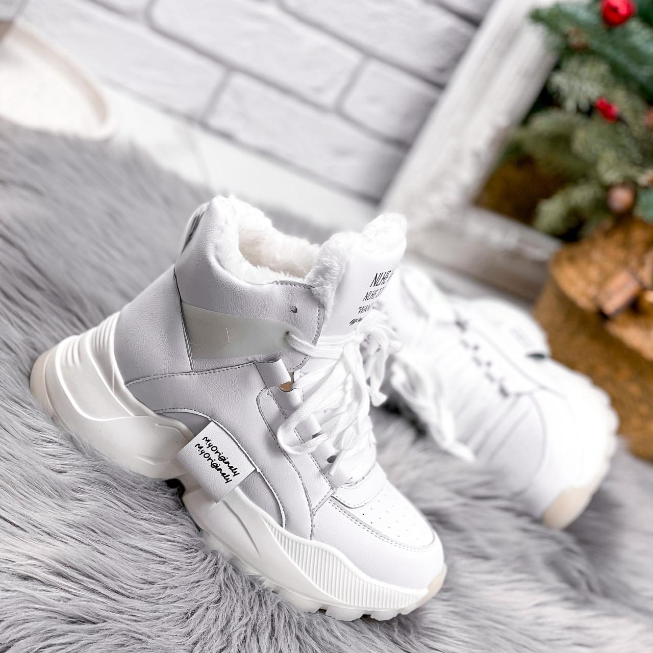 Ботинки женские Tress белые 2702