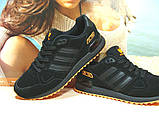 Кроссовки мужские Adidas ZX 750  черно-оранжевые 44 р., фото 2