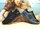 Кроссовки мужские Adidas ZX 750  черно-оранжевые 44 р., фото 9