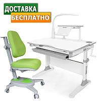 Растущая парта стол Evo-30 New c лампой + Onyx
