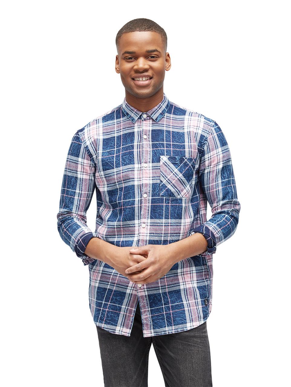 Рубашка Tom Tailor 20552040012 L Синий