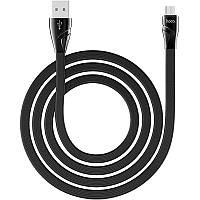 USB Cable Hoco U57 Twisting MicroUSB Black 1.2m, фото 1