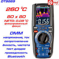 DT9889 мультиметр с функцией тепловизора, от -20ºC до 260ºC
