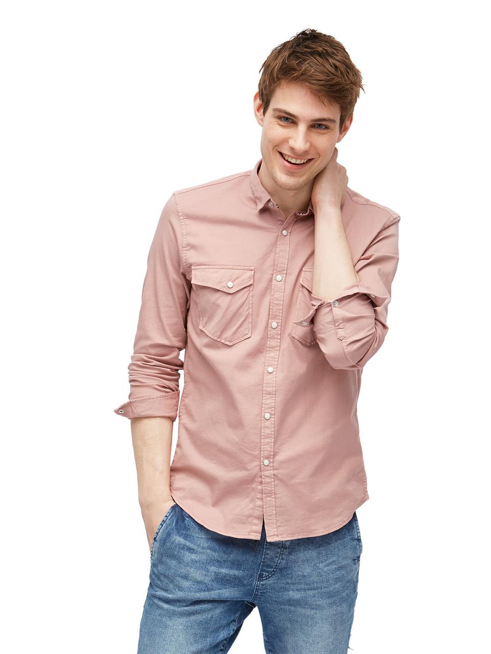 Рубашка Tom Tailor 1002697 S Розовый