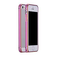 Бампер металлический Creativ для iPhone 5/5s Pink, фото 1