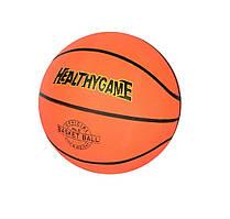 М'яч баскетбольний розмір 5, гума, 440-470 г.,
