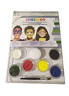 Набор красок для грима Snazaroo 23,5х16см Разноцветный