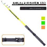 "Спиннинг телескоп ""Bold fisher"" 1.8м 60-120г 5к"