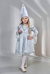 Костюм карнавальний Сніжинка (3-9 років)