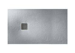 TERRAN поддон 120*90см ультраплоский, из искусственного камня Stonex, в комплекте с трапом и сифоном, цвет