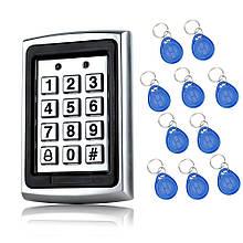 Кодовая панель RFID 7612 + 10 брелоков