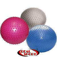 Мяч для фитнеса массажный фитбол d - 65-75см