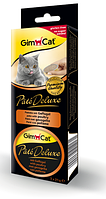 Консервы Gimpet Pate Deluxe для кошек, с кусочками печени, 3х21г