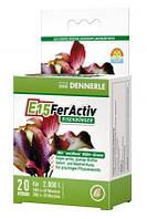 Удобрение Dennerle  E15 FerActiv железосодержащее для всех аквариумных растений в таблетках, 40 шт, на 4000л