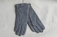Перчатки кашемировые, (цвет-светло серый)