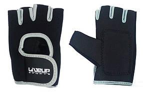 Перчатки LiveUp Training Gloves Black-Grey (LS3077-LXL)