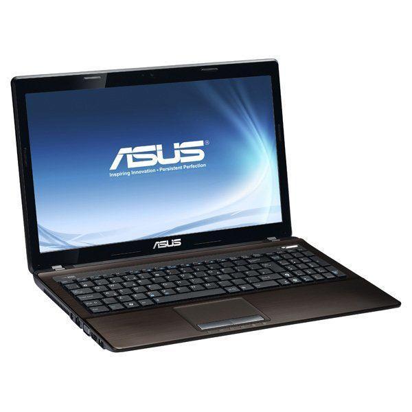Asus X53S / 15.6 (1366x768) TN / Intel Core i5-2430M (2 (4) ядра по 2.4 - 3.0 GHz) / 8 GB DDR3 / 240 GB SSD /