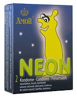 Презервативы - Amor Neon, 2 шт.