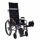 Инвалидная коляска многофункциональная RECLINER хром, фото 2