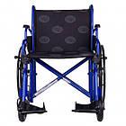 Инвалидная коляска с усиленной рамой Millenium Heavy Duty, фото 7