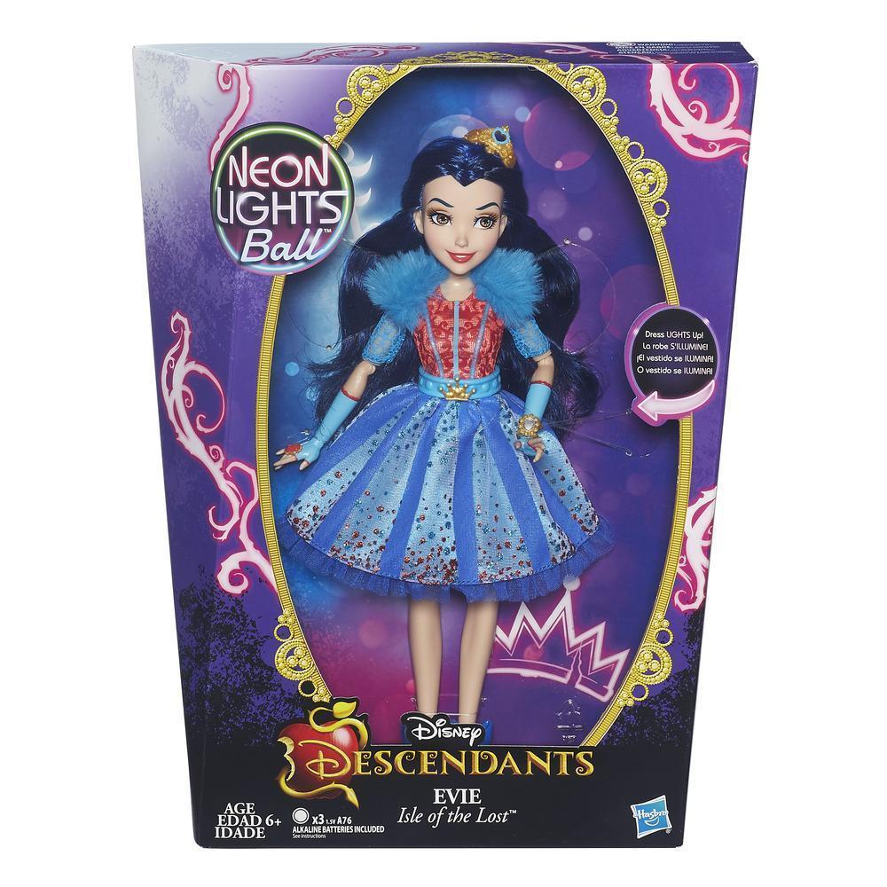 Уценка Кукла Наследники Дисней Эви Бал Неоновых Огней Disney Descendants Neon Lights Feature Evie