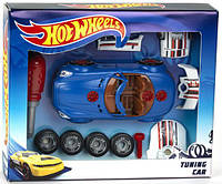 Дитячий Ігровий Набір для Тюнінгу Хот Вілс з автомобілем, викруткою і частинами авто Hot Wheels Klein Кляин