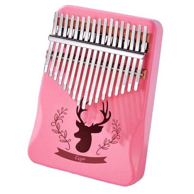 Калимба музыкальный инструмент на 17 язычков (премиум качество) - Розовый