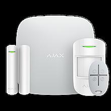 Комплект бездротової сигналізації Ajax StarterKit (white)