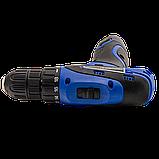 Аккумуляторный шуруповерт Pracmanu (синий) + Доп. Аккумулятор, фото 3