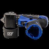 Аккумуляторный шуруповерт Pracmanu (синий) + Доп. Аккумулятор, фото 4