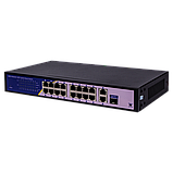 Коммутатор сетевой POE GreenVision GV-010-D-16+2 PG+1 SFP, фото 3