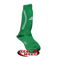 Гетры для футбола Adidas зеленые. Размеры S (18-23 см), L (25-28 см)