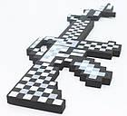 Пиксельный железный автомат Minecraft майнкрафт. Оригинал, фото 3
