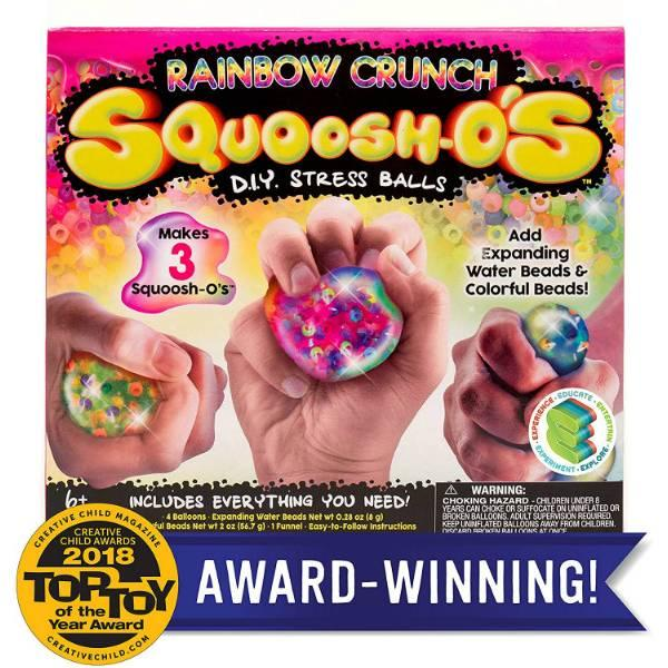 Horizon Набір для створення м'ячика антистрес райдужний 84238 Squoosh-Os Rainbow Crunch