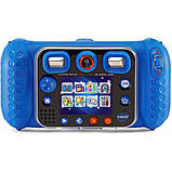 VTech KidiZoom Детский цифровой фотоаппарат 80-520000 Duo DX Digital Selfie Camera with MP3 Player Blue, фото 8