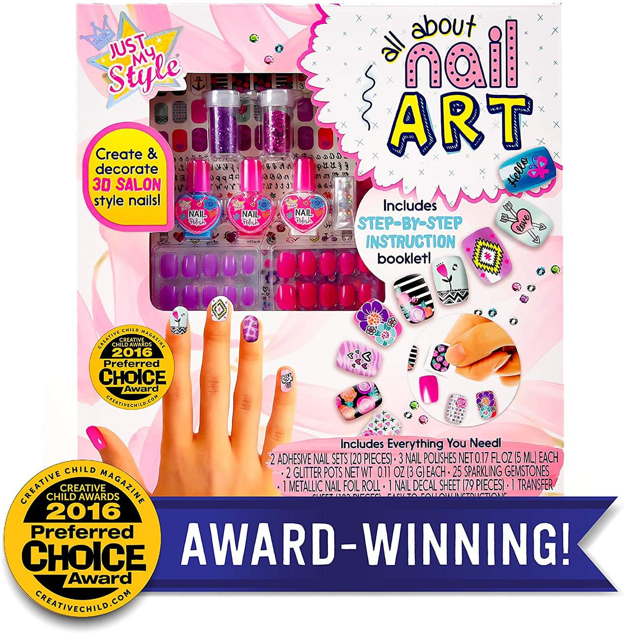 Horizon Набор для маникюра 72559F Just My Style All about Nail Art
