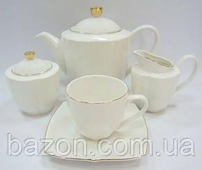 Чайний сервіз Princess Bona-B01 15 предметів