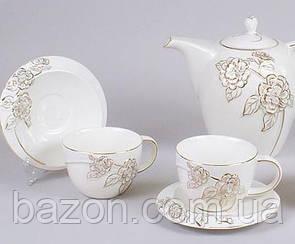 Чайний сервіз Princess Gold-7C10 15 предметів