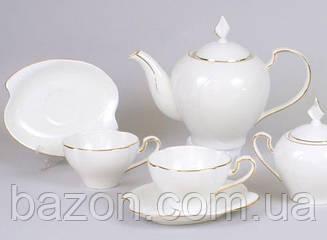 Чайний сервіз White Princess-112 15 предметів